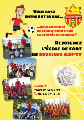 affiche 2015 foot bessine